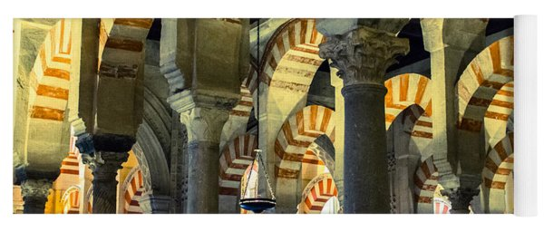 Mosque Cathedral Of Cordoba 2 Yoga Mat