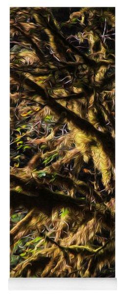 Mossy Trees Yoga Mat