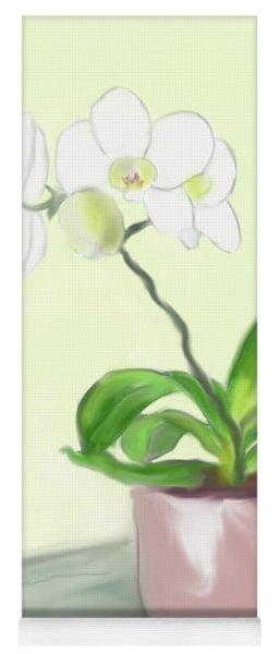 Moth Orchid Yoga Mat