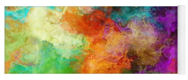 Mother Earth - Abstract Art Yoga Mat