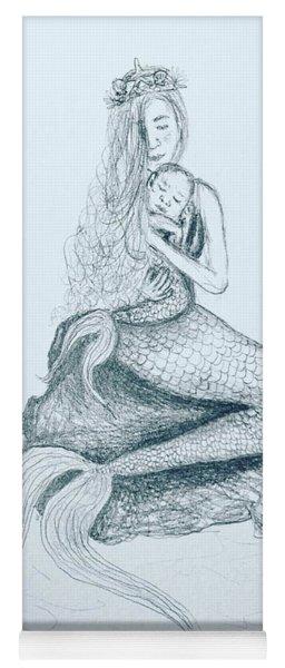 Motherhood Mermaid Yoga Mat