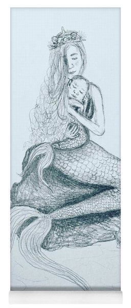 Motherhood Mermaid Yoga Mat