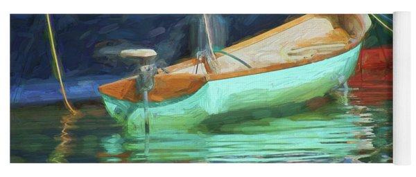 Motorboat - Reflection Yoga Mat
