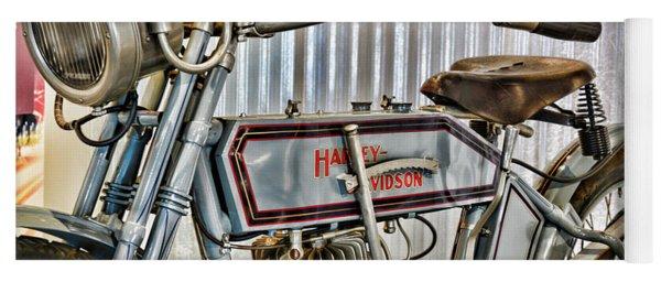 Motorcycle - 1913 Harley Davidson 9a Yoga Mat