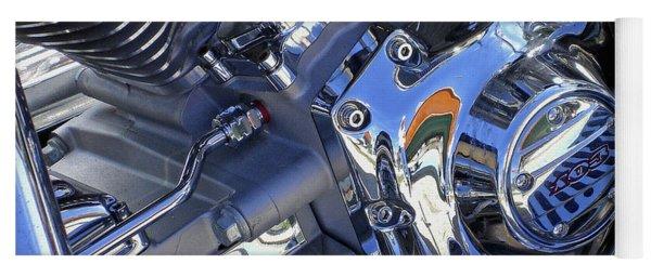 Motorcycle Blues 2 Yoga Mat