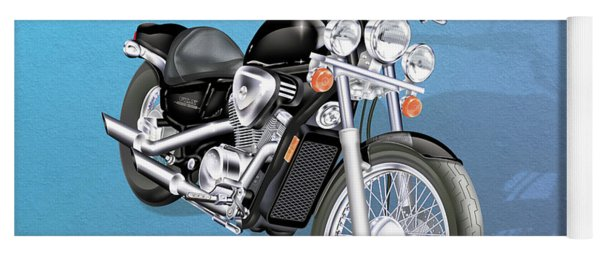 Motorcycle Yoga Mat