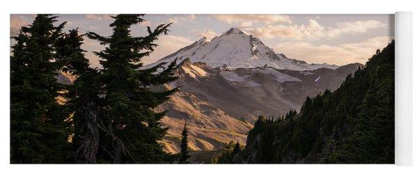 Mount Baker Beautiful Landscape Yoga Mat