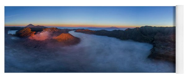 Mount Bromo Scenic View Yoga Mat