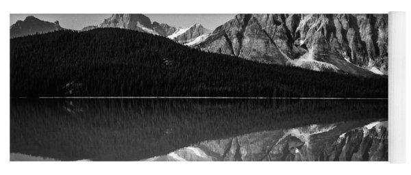 Mount Chephren Reflection Yoga Mat