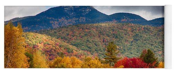 Peak Fall Colors On Mount Chocorua Yoga Mat