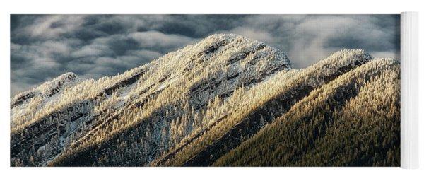 Mount Higgins Clouds Yoga Mat