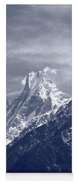 Mount Machapuchare, The Himalayas, Nepal Yoga Mat