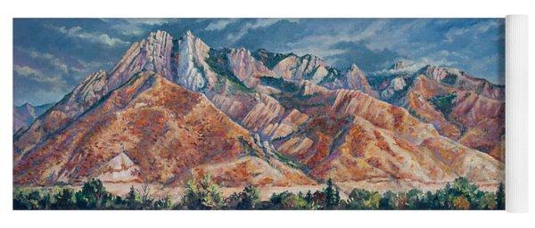 Mount Olympus In Autumn  Yoga Mat