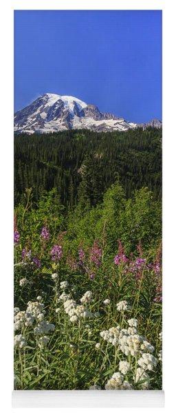 Mount Rainier Yoga Mat