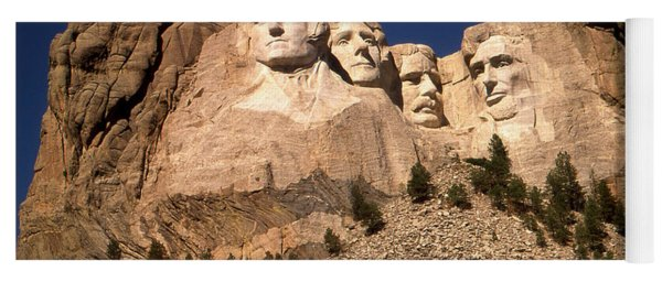 Mount Rushmore National Monument South Dakota Yoga Mat