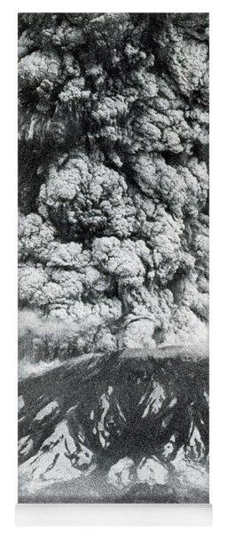 Mount St. Helens Eruption, 1980 Yoga Mat