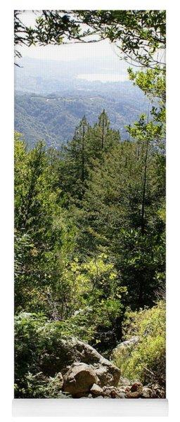 Mount Tamalpais Forest View Yoga Mat