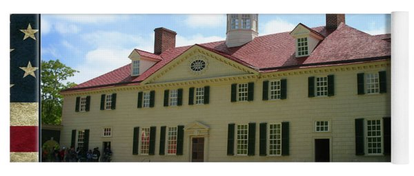 Mount Vernon Home Of George Washington Yoga Mat