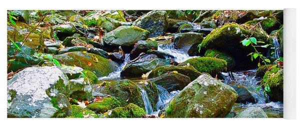 Mountain Appalachian Stream 2 Yoga Mat