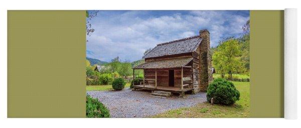 Mountain Cabin Yoga Mat