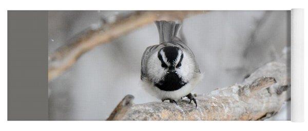 Mountain Chickadee Yoga Mat