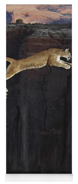 Mountain Lion - One Chance Yoga Mat