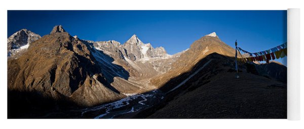 Mountain Peak, Kumuche Himal Yoga Mat