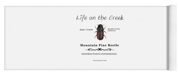 Mountain Pine Beetle Color Yoga Mat
