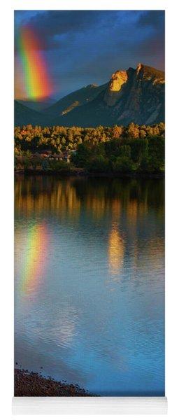 Mountain Rainbows Yoga Mat