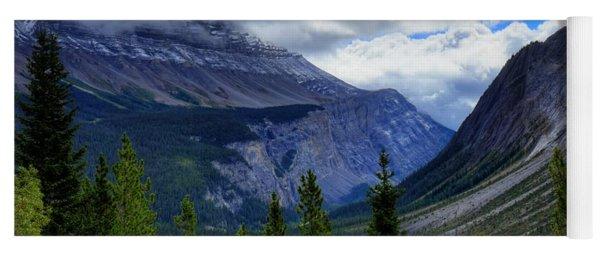 Mountain Ranges South Of Jasper Yoga Mat