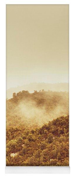Mountainous Tasmanian Mist Yoga Mat