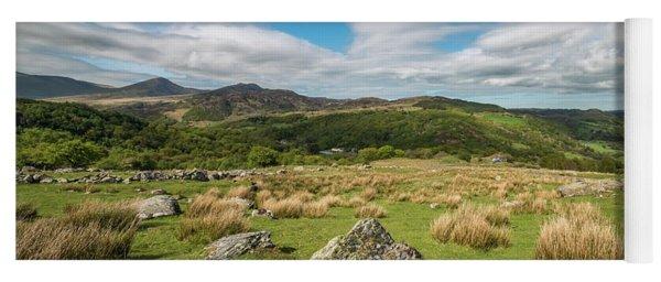 Mountains In Snowdonia Yoga Mat