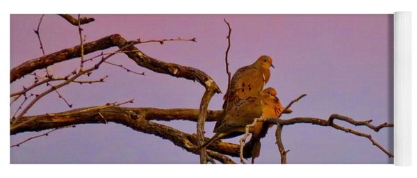 Mourning Doves Yoga Mat