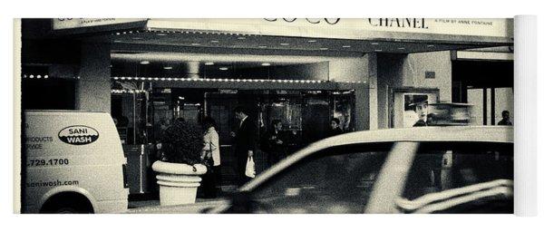 Movie Theatre Paris In New York City Yoga Mat