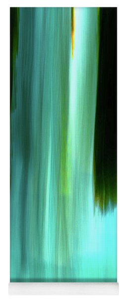 Moving Trees 37-03 Portrait Format 14 By 21 Inch Yoga Mat