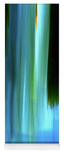 Moving Trees 37-05 Portrait Format Yoga Mat