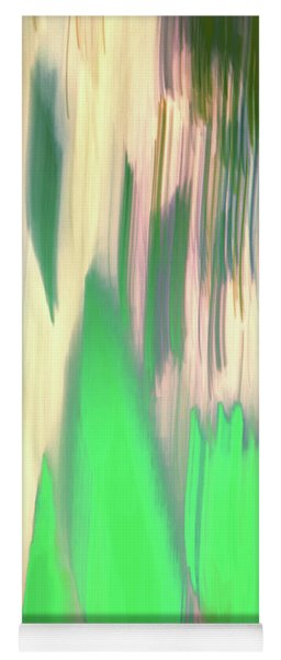 Moving Trees 37-06portrait Format Yoga Mat