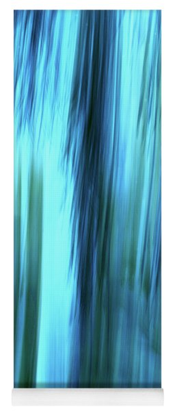 Moving Trees 37-15portrait Format Yoga Mat