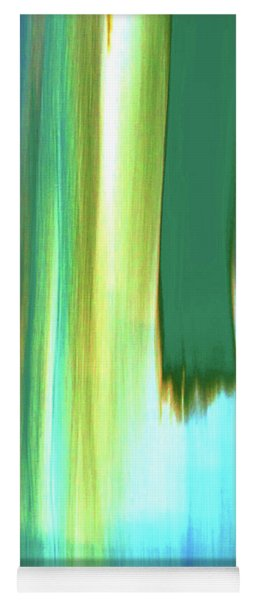Moving Trees 37-19 Portrait Format Yoga Mat
