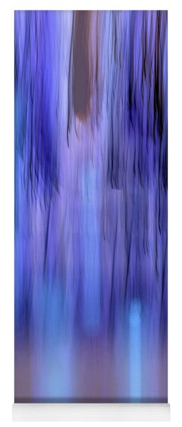 Moving Trees 37-33 Portrait Format Yoga Mat