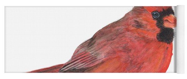 Mr Cardinal Yoga Mat