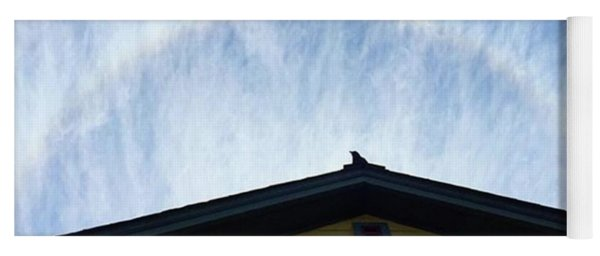 Mr. Crow: The Center Of All Things. A Yoga Mat