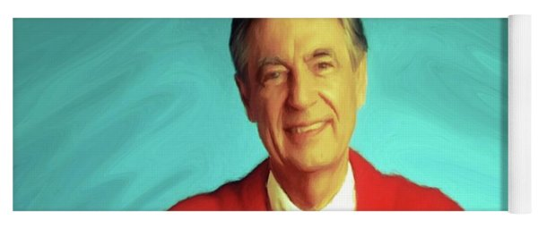 Mr Rogers With Trolley Yoga Mat
