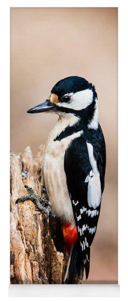 Mrs Woodpecker Yoga Mat