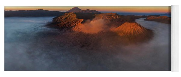 Mt Bromo Sunrise Yoga Mat