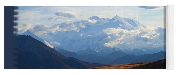 Mt. Denali National Park Yoga Mat