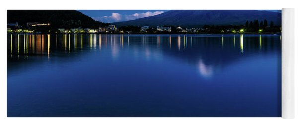 Mt Fuji - Blue Hour Yoga Mat