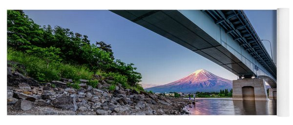 Mt Fuji - Under The Bridge Yoga Mat
