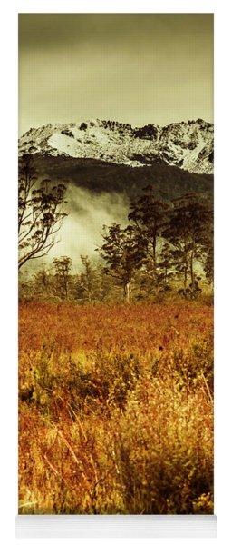Mt Gell. Tasmania National Park Of Franklin Gordon Yoga Mat