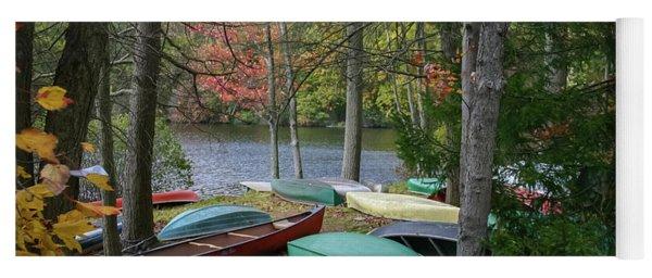 Mt. Gretna Canoes Yoga Mat